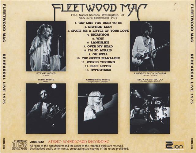 Go Your Own Way :: Fleetwood Mac UK | Wallingford 75 | fleetwood