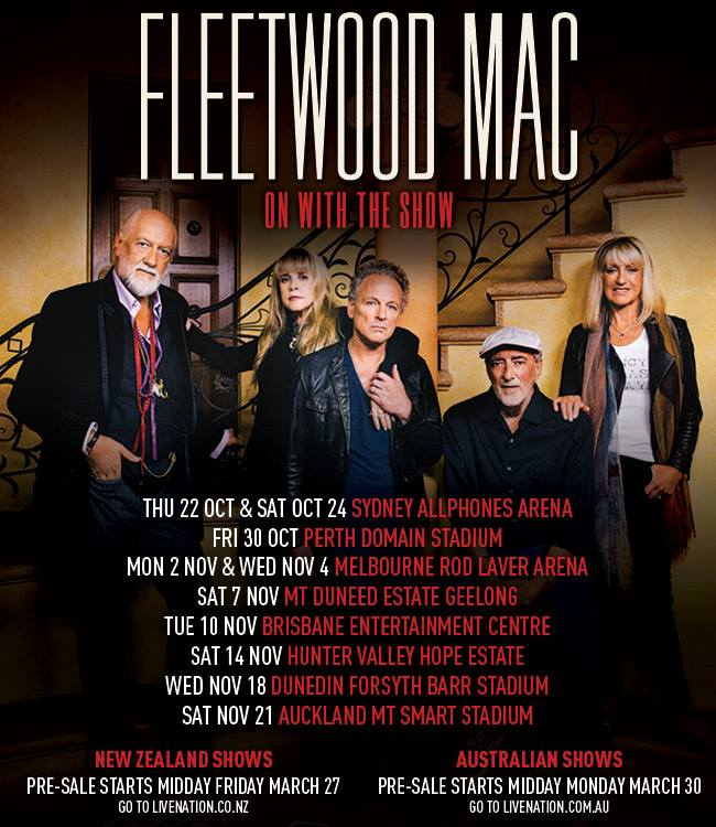 fleetwood mac brisbane - photo #30