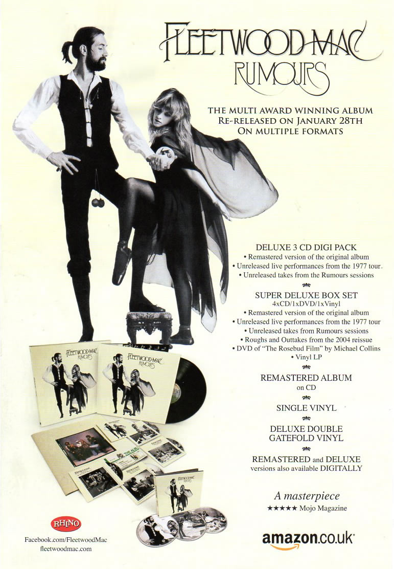 Go Your Own Way The Uk Resource For Fleetwood Mac
