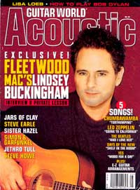 Lindsey Buckingham - Back In Mac - Guitar Magazine interview with